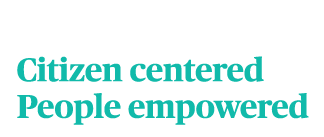 City of Gainesville Wordmark: Gainesville. Citizen Centered People Empowered